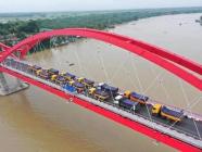 စက်တင်ဘာလတွင် စတင်ဖွင့်လှစ်တော့မည့် ပုသိမ် အမှတ် (၂) တံတားသစ်ကြီး