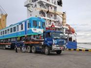 တရုတ်ပြည်မှမှာယူထားသည့် လေအိတ်ရထားတွဲများ သီလဝါဆိပ်ကမ်းသို့ ရောက်ရှိလာ