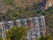 ဂုတ်ထိပ်တံတားအနီးတွင် တည်ဆောက်မည့် မြန်မာနိုင်ငံ၏ ပထမဆုံး ပေ (၂၀၀) မှန်တံတား