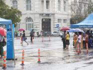 ရန်ကုန်တွင် လာမည့် (၁၀) ရက်အတွင်း တစ်ရက်၊ နှစ်ရက်ခန့် မိုးရွာနိုင်